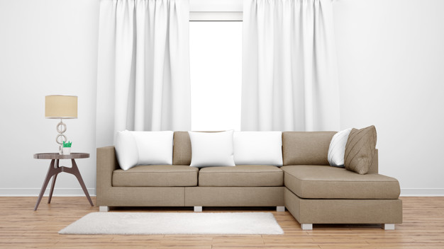 cozy-living-room-with-brown-sofa-large-window_176382-1509