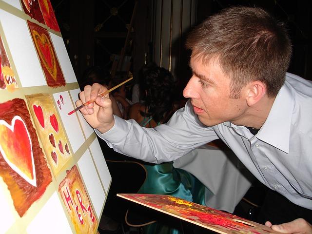 malíř